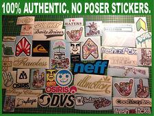 25 JDM Skate Skateboard Snowboard Bomb Luggage Laptop Sticker Decal Lot (25Lug)