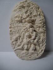 Dollhouse Miniature  Cast Resin Wall Relief FR33