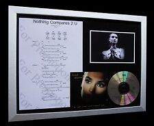SINEAD O'CONNOR Nothing Compares 2 U CD MUSIC FRAMED DISPLAY+EXPRESS GLOBAL SHIP