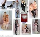 figurine de marié pour gâteau mariage 11modele couple noir/ GAY / lesbienne etc.