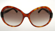 TODS 30 53F Blonde Havana / Brown Gradient Sunglasses TO 0030 5953F