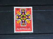 AUST 1967 25c CHRISTMAS ISSUE  VERY FINE M/N/H