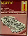 Haynes - Morris Ital 1.3 / 1980 to 1984 All Models Owners Workshop Manual - Used