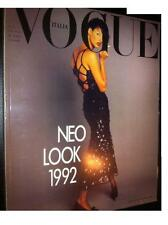 VOGUE Italia 1992 Linda Evangelista top issue Versace Y Ghauri T Soto Pelz Furs