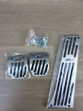 M Sport Aluminium Foot Pedal Covers For BMW 3 SERIES E30 E36 E46 Z3