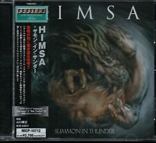 HIMSA - Summon In Thunder - CD Album *Japan Import With OBI*
