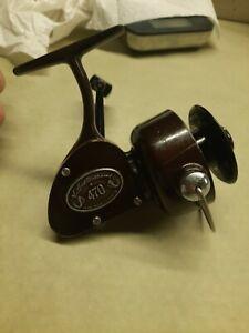 Ted Williams Sears Roebuck co. 470 Spinning Fishing Reel.  # 408