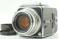 【NEAR MINT】 Hasselblad 500C + Planar C 80mm F2.8 Chrom Lens + A12 II from JAPAN
