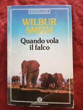 Libro Quando vola il falco Wilbur Smith Oscar Mondadori #TO1