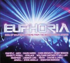Euphoria 2011 Dance Anthems CD 3 Disc Set - FAST FREE UK P&P