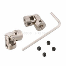 2pcs 8mm to 10mm Motor Shaft Coupling Universal Joint Connector for RC Boat Car