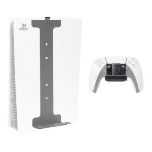 HIDEit PS5 Pro Bundle Wall Mounts for PS5 (Disc or Digital) & PS5 Controller
