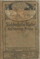 Prato - Suddeutsche Kuche - 1920 Cucina Tedesca - 64 edizione  Styria