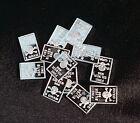 10 x Lingote de Plata Calavera a 1 Gramm 999 Feinsilber plata - RARO NUEVO