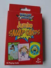 "Jumbo Snap Cards Giant Large Educational Learning 5"" NEW"