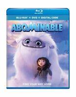 Abominable (Blu-Ray + DVD + DIGITAL CODE)