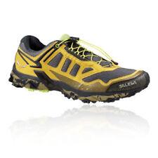 Scarpe da ginnastica da uomo giallo SALEWA con stringhe