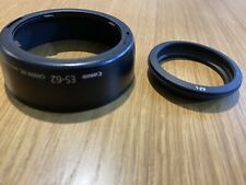 CANON ES-62 WITH 62-L RING LENS HOOD