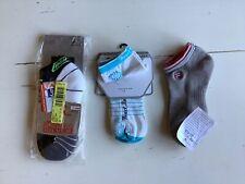 Bundle of 3 running sport socks Pearl Izumi, Euro, Fila Small