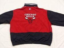 Chicago Bulls Retro Starter Summer Jacket NBA Vintage Red Size: XL Tip Top