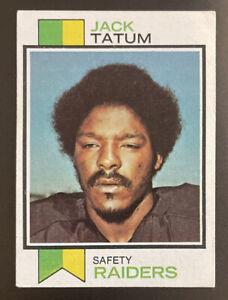 1973 Topps, #288, Jack Tatum ROOKIE, Oakland Raiders, Sharp Classic!