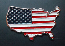 Estados unidos metal-emblema bandera mapa car-styling