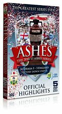 The Ashes Series 2010/2011 - Official Highlights 5 Disc Box Set DVD Brand New