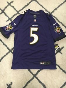 NWT Joe Flacco Baltimore Ravens Stitched Jersey Men's Small