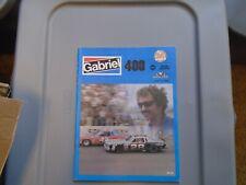 1980 Gabriel 400 Program Michigan Richard Petty