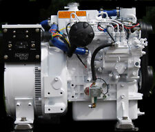 4.5 KW Diesel Marine Generator Kubota Heat Exchange Cooling Ignition Protection