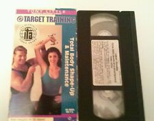 Tony Little VHS Video Target Training Total Body Shape Up & Maintenance Fitness