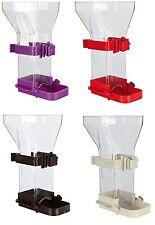 "Plastic Easy Fill Food Dispenser for Birds Budgie Canary 150ml 12cm (5"")"