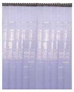PVC Strip Curtain Door 2.5 M x 3 M for coldroom warehouse Catering (300)