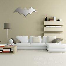 Batman Logo LED Light Decor Combo Mirror Discolour Lamp With Remote Controlled