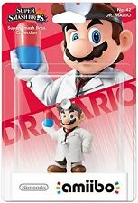 Dr. Mario amiibo [For Nintendo Wii U, Super Smash Bros. Level to 50!] NEW