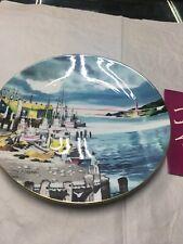 Royal Doulton 1975 1st Series Ports Of Call Plate Fishermans Wharf San Francisco