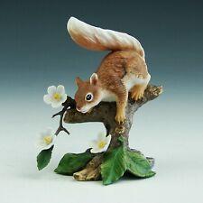 Vintage Lenox Springtime Scamper Red Squirrel Porcelain Figurine