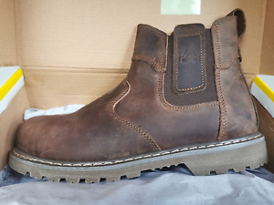 Amblers FS165 Steel Toe Cap Safety Boots, Crazy Horse Leather- UK Sizes