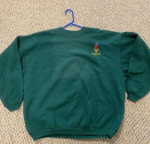 Vintage 90s Atlanta 1996 Olympics Sweatshirt Centennial Green Sz XXL