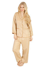 Luxurious Pure Mulberry Silk Velvet Pyjama Set New with Tags & Gift Box Size M