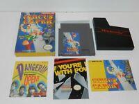Circus Caper Nintendo NES Game Complete in Box CIB Tested
