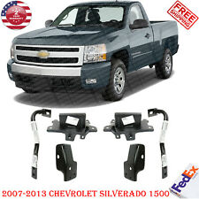 Front Bumper Bracket Kit Extension Out Support For 2007 13 Chevy Silverado 1500 Fits 2013 Silverado 1500