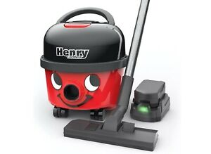 Henry Vacuum Numatic Cordless Cylinder Cleaner With 2 X 36 V Batteries Brand New