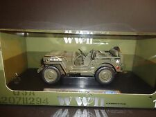 Welly Willys 1/4 Ton Army Military Truck 1/18