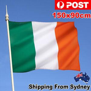 Irish Ireland Flag National St Patricks Day Outdoor Large 90 X 150 CM 3ft x 5ft