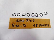 Snap Ring 5100-31 Retaining Ring (Pack of 8)