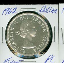 1962 CANADA SILVER DOLLAR NGC PL HIGH GRADE SPOTLESS *