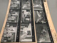 MAGALIE NOËL et JEAN CLAUDE PASCAL  : PLANCHE CONTACT ORIGINALE DE 1965