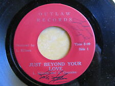 RARE SIGNED OUTLAW 45: L. KILLEEN & L. GONZALES  western/Mexican guitar HEAR mp3