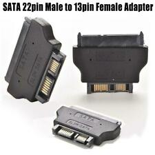 Slimline SATA Adapter ATA 7+15 22pin Male to Slim 7+6 13pin Female Adapter